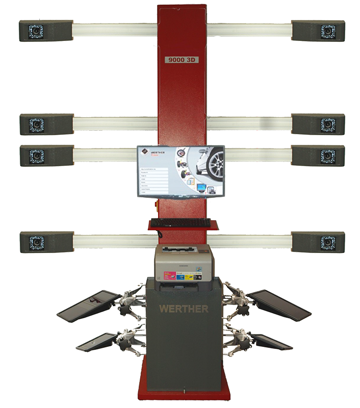 Wheel Aligner Seros 9000D - Wheel Alignment Machines