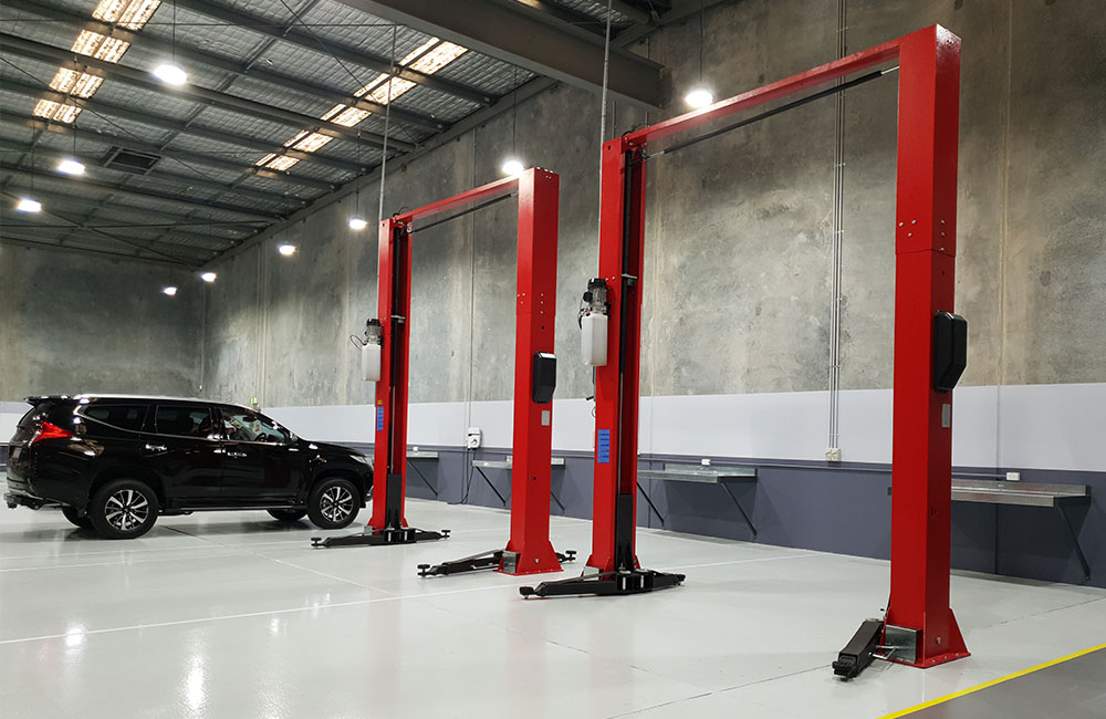 Mitsubishi Automotive Workshop Fitout
